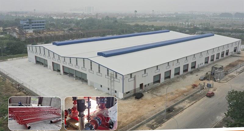 Bảo trì hệ thống phòng cháy chữa cháy cho khu công nghiệp